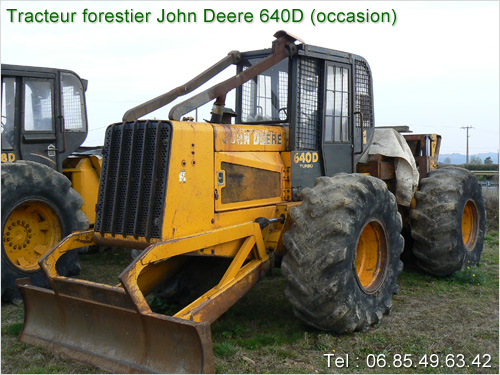 tracteur forestier debusqueur occasion